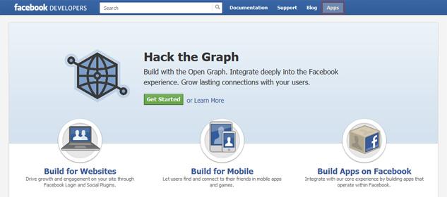 Facebook Developer Page